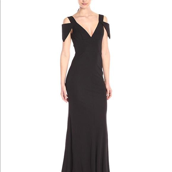 ABS Allen Schwartz Dresses | Abs Triangle Sleeve Gown | Poshmark